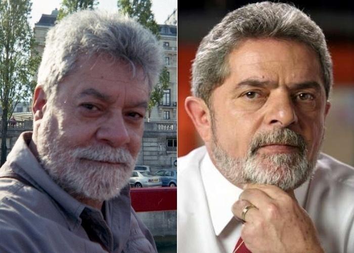 """O internauta do apelido Psiaba se acha parecido com o ex-presidente Lula. """"Por onde eu passo gritam o nome dele. Quando estive na Europa, os turistas brasileiros tiravam fotos e faziam vídeos"""", contou."""