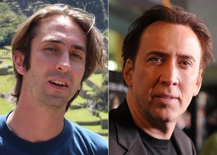Se você encontrasse o internauta Luiz Butcher Accacio, de São José dos Campos (SP), na rua, pensaria na possibilidade de pedir um autógrafo pensando que ele é o ator de Hollywood Nicolas Cage?