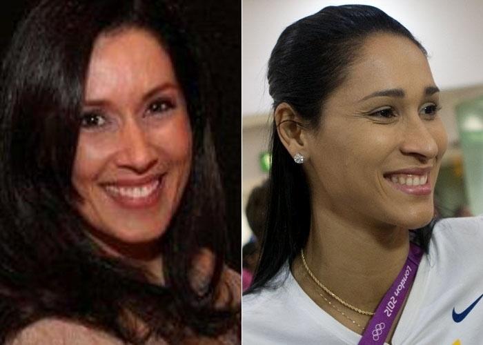 Ana Paula Costa declarou que se acha com Jaqueline Carvalho, jogadora da seleção feminina de vôlei. Será que ela bate esse bolão mesmo?