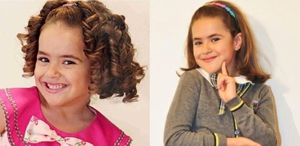 """Maisa, que interpreta Valéria de """"Carrossel"""", é famosa desde os 3 anos de idade quando fez suas primeiras aparições no programa """"Raul Gil"""""""