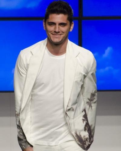 4º lugar - Bruno Gissoni, 26, ator
