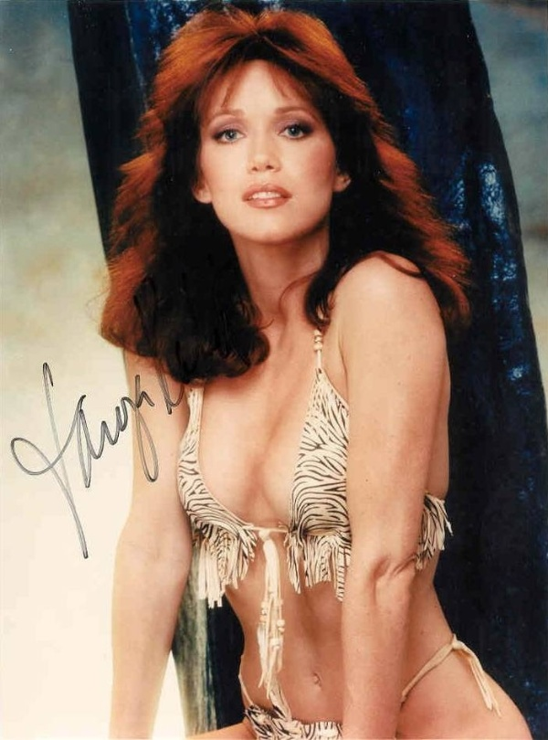 "Tanya Roberts deu vida para Stacey Sutton, em ""A View to a Kill"", de 1985"