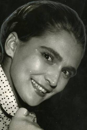 A cantora Hebe Camargo na época do lançamento do disco 'Festa de Ritmos', em junho de 1957