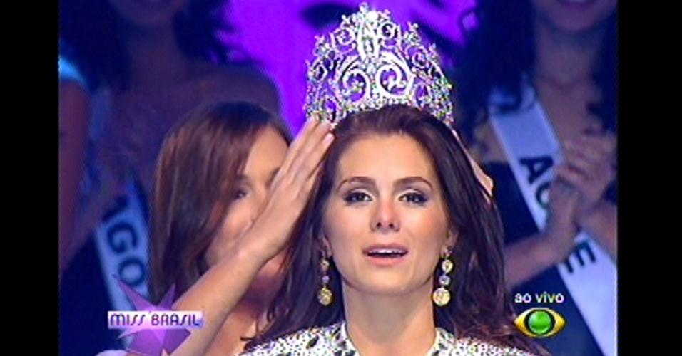 A vencedora do Miss Brasil 2012 é a gaúcha Gabriela Markus, 23 anos, 1,80 m. Em segundo lugar ficou a Miss Minas Gerais, Thiéssia Sickert, 19, 1,80 m. Em terceiro lugar ficou a Miss Rio Grande do Norte, Kelly Fonseca, 23.