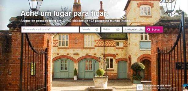 Página do Airbnb, serviço usado por locatários de moradias populares em Paris