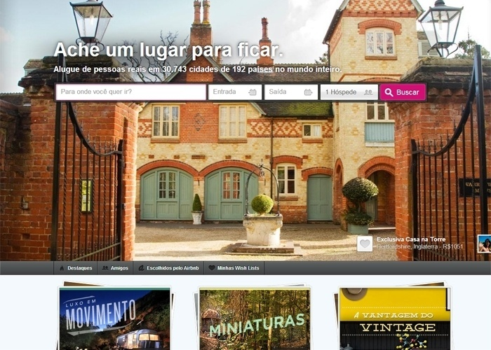 """Home """"Airbnb"""", consumo colaborativo, hotéis"""