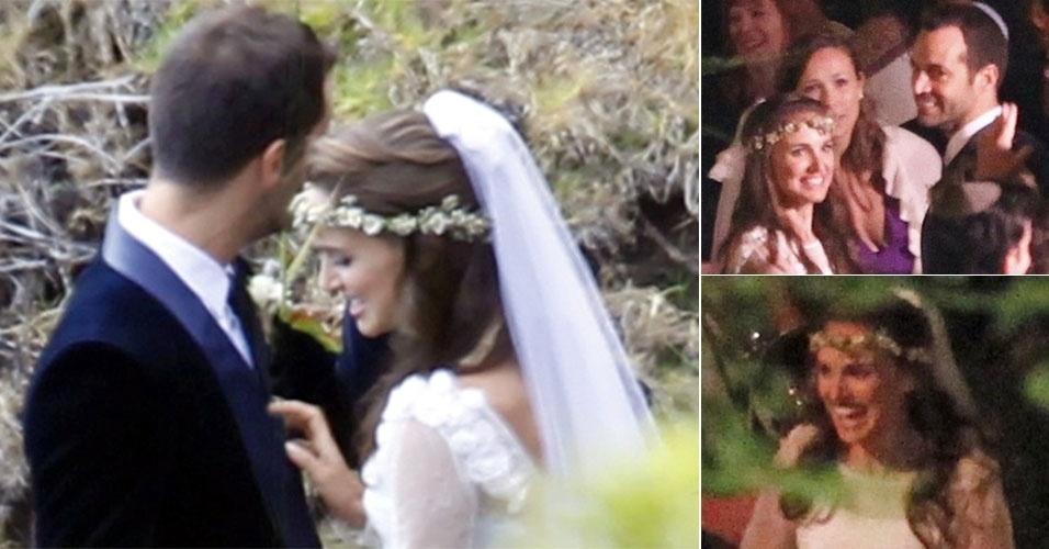 No dia 4 de agosto de 2012, a atriz Natalie Portman se casou com o coreógrafo Benjamin Millepied. Os casal, que optou por uma cerimônia intimista e judaica, se conheceu durante as filmagens do longa
