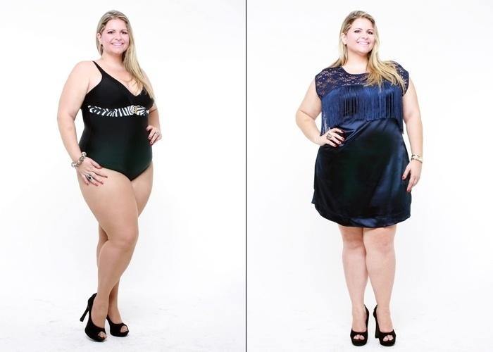 Vanessa Pichinin, 32 anos, modelo plus size