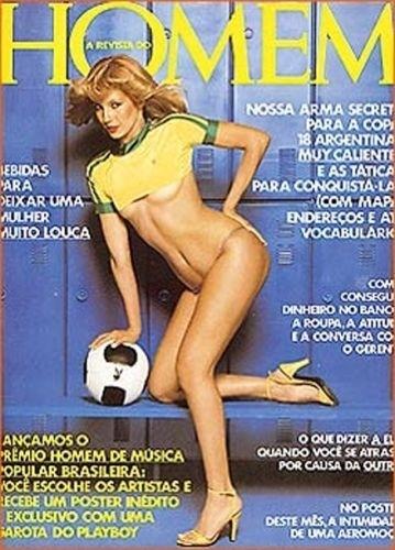 Maio de 1978 - Garotas da Argentina