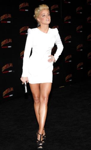 68º lugar - Amber Heard, atriz e modelo norte-americana
