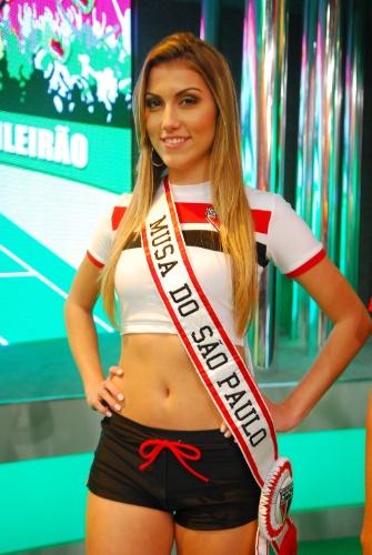 80º lugar - Fernanda Saldanha, modelo e musa do São Paulo (2009)