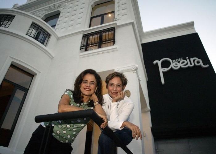 Além de terem atuado juntas, Marieta Severo e Andrea Beltrão são donas do Teatro Poeira em Botafogo, inaugurado em junho de 2005