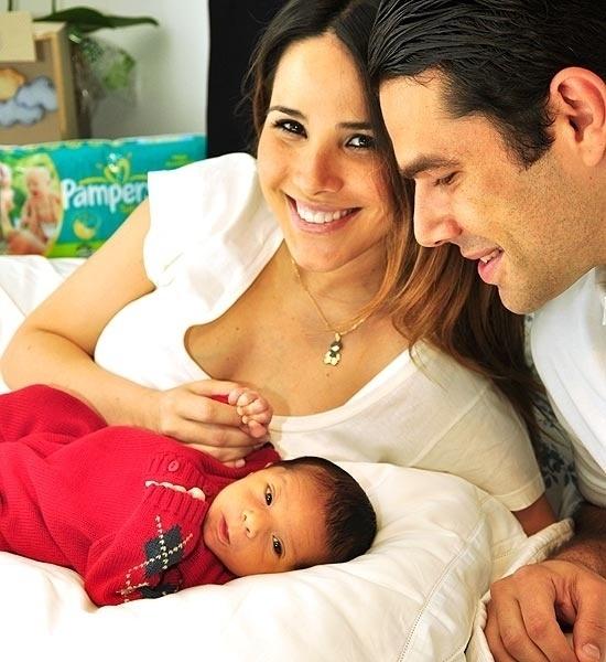 5.jan.2012 - A cantora Wanessa Camargo deu à luz o pequeno José Marcus, seu primeiro filho com o marido, Marcus Buaiz. O parto foi uma cesárea e o primogênito chegou ao mundo com 3,6 kg