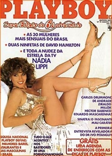 Agosto de 1981 - Nádia Lippi