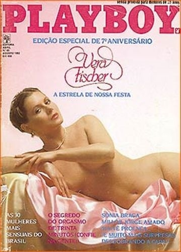 Agosto de 1982 - Vera Fischer