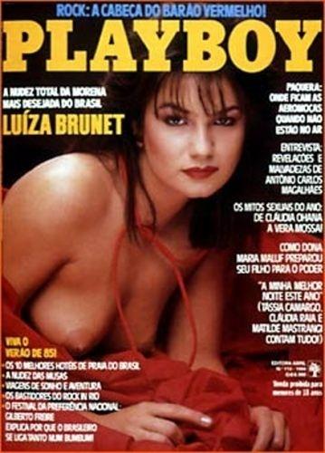 Dezembro de 1984 - Luiza Brunet (capa pela 2ª vez)