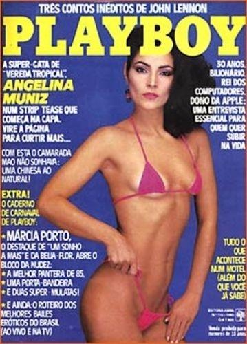 Fevereiro de 1985 - Angelina Muniz (capa pela 2ª vez)