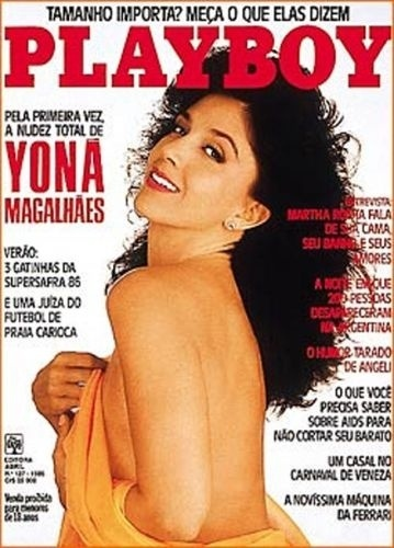 Fevereiro de 1986 - Yoná Magalhães