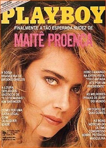 Fevereiro de 1987 - Maitê Proença