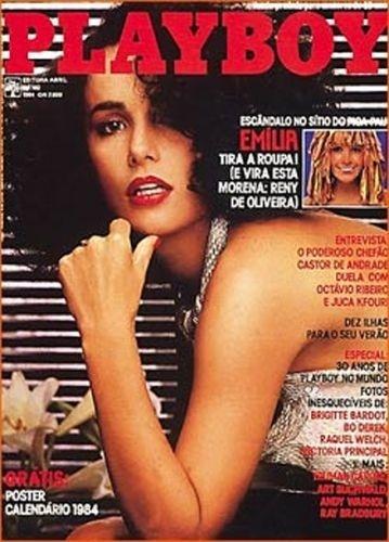 Janeiro de 1984 - Reny de Oliveira