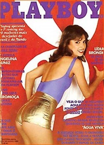 Julho de 1980 - Lídia Brondi