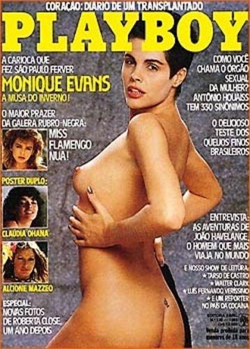 Julho de 1985 - Monique Evans