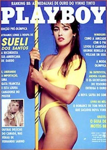 Julho de 1988 - Sueli dos Santos (capa pela 2º vez)