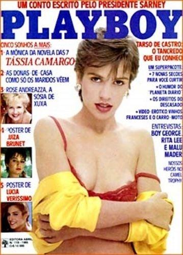 Junho de 1985 - Tássia Camargo (capa pela 2ª vez)