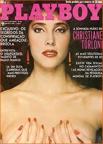 Março de 1983 - Christiane Torloni