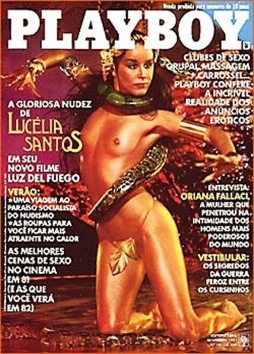 Novembro de 1981 - Lucélia Santos (capa pela 2ª vez)