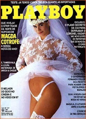 Outubro de 1987 - Magda Cotrofe (capa pela 3ª vez)