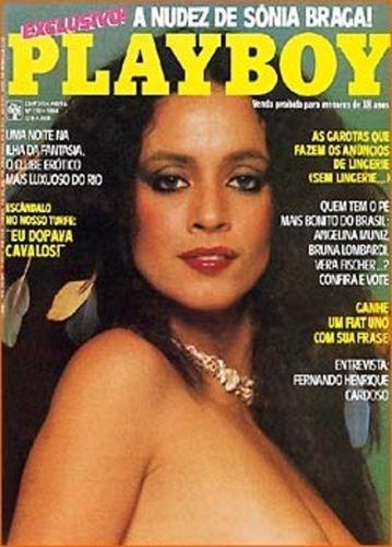 Setembro de 1984 - Sônia Braga