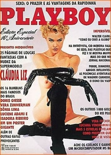 Agosto de 1991 - Cláudia Liz