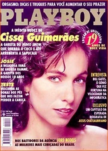Agosto de 1994 - Cissa Guimarães