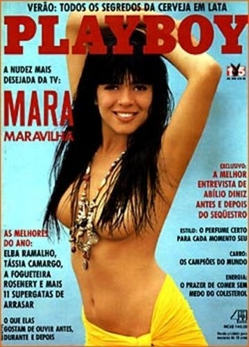 Fevereiro de 1990 - Mara Maravilha