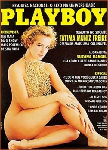 Julho de 1991 - Fátima Muniz Freire