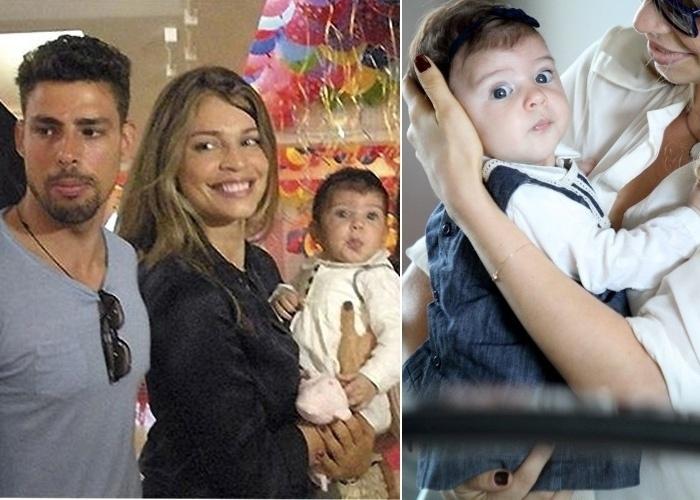 23.mai.2012 - O ano de 2012 foi de muitos sorrisos para Cauã Reymond e Grazi Massafera. O casal ganhou a primeira filha, Sofia, que nasceu pesando 4,135 kg e medindo 50 cm, no Rio