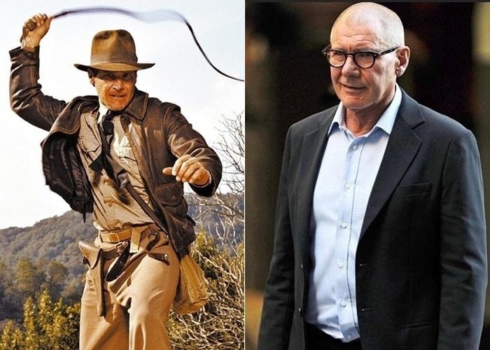 O ator norte-americano Harrison Ford animava as tardes da garotada das décadas de 80 e 90 com as reprises dos filmes da saga 'Indiana Jones', estrelado por ele. Atualmente, o ator segue firme na carreira e continua protagonizando grandes produções de Hollywood, como 'Cowboys & Aliens', filme de 2011. Ele também é casadao com a atriz Calista Flockhart, desde junho de 2012