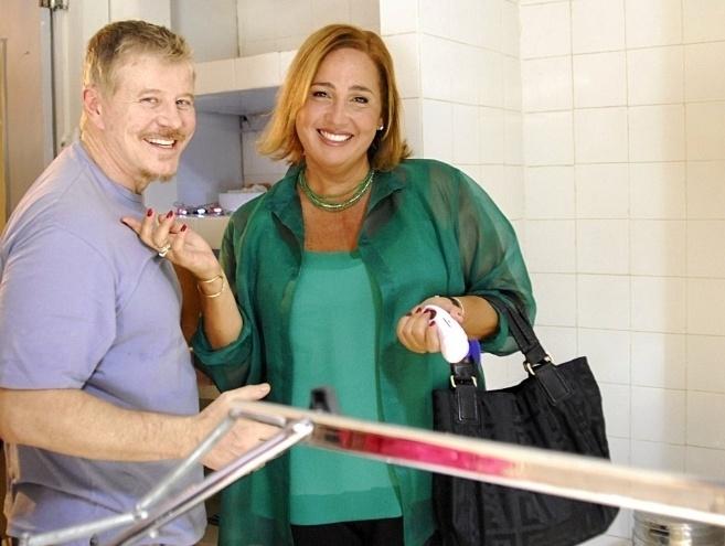 """Miguel Falabella e Cláudia Jimenez em cena do seriado """"A Vida Alheia"""" (5/2/10)"""