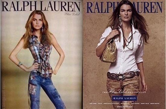 """Filippa Hamilton é uma modelo que ganhou fama por causa de sua foto completamente distorcida para uma campanha publicitária da Ralph Lauren. A modelo afirmou que depois da polêmica com a imagem, seu contrato com a marca foi encerrado por ela estar """"muito gorda"""". A empresa alegou que Filippa """"havia engordado muito e não cabia em suas roupas"""""""