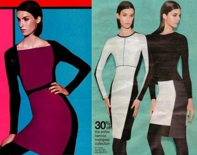 """Já é corriqueiro achar deformações corporais causadas pelo uso excessivo de Photoshop. Desta vez, uma campanha da loja de fast fashion Kohl's exibe uma modelo com a cintura tão reduzida que dá a impressão de que ela teve o pescoço deslocado. Outra modelo, de vestido branco, foi tão """"afinada"""" que seu corpo assume a forma de um triângulo invertido"""