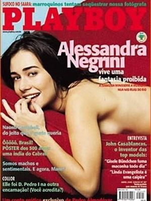 Abril de 2000 - Alessandra Negrini