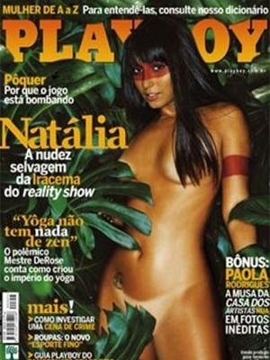Abril de 2005 - Natália do BBB