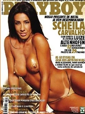 Dezembro de 2001 - Sheila Carvalho