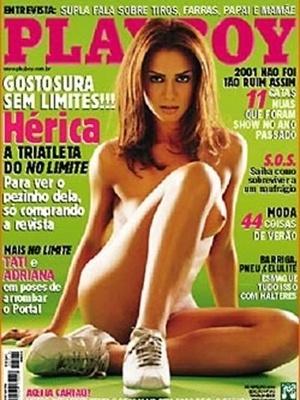 """Fevereiro de 2002 - Hérica, do """"No Limite"""""""