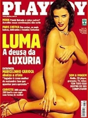 Maio de 2001 - Luma de Oliveira