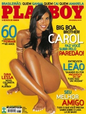 Maio de 2007 - Carol do BBB
