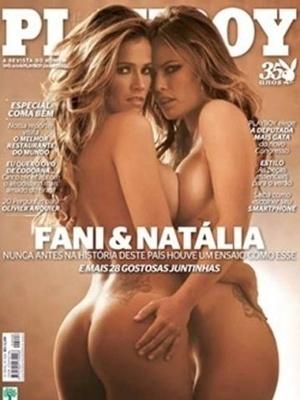 Novembro de 2010 - Fani e Natália