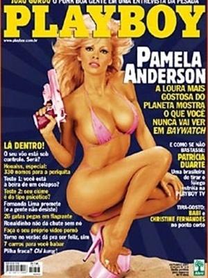 Outubro de 2001 - Pamela Anderson