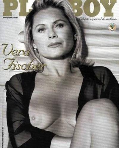 """Capa de edição especial da revista """"Playboy"""" com a atriz Vera Fischer (Janeiro/2000)"""
